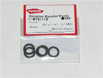WASHERS 7X11X1.0MM (5)