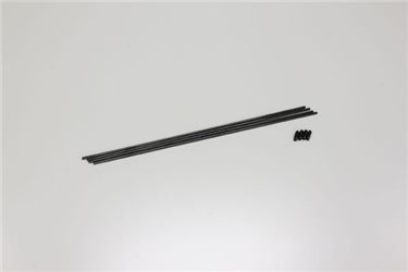 ANTENNA TUBES FOR RX - LUMIN BLACK COL : PK OF 4