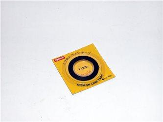 MICRON TAPE -  (BLACK) 1MM X 5M