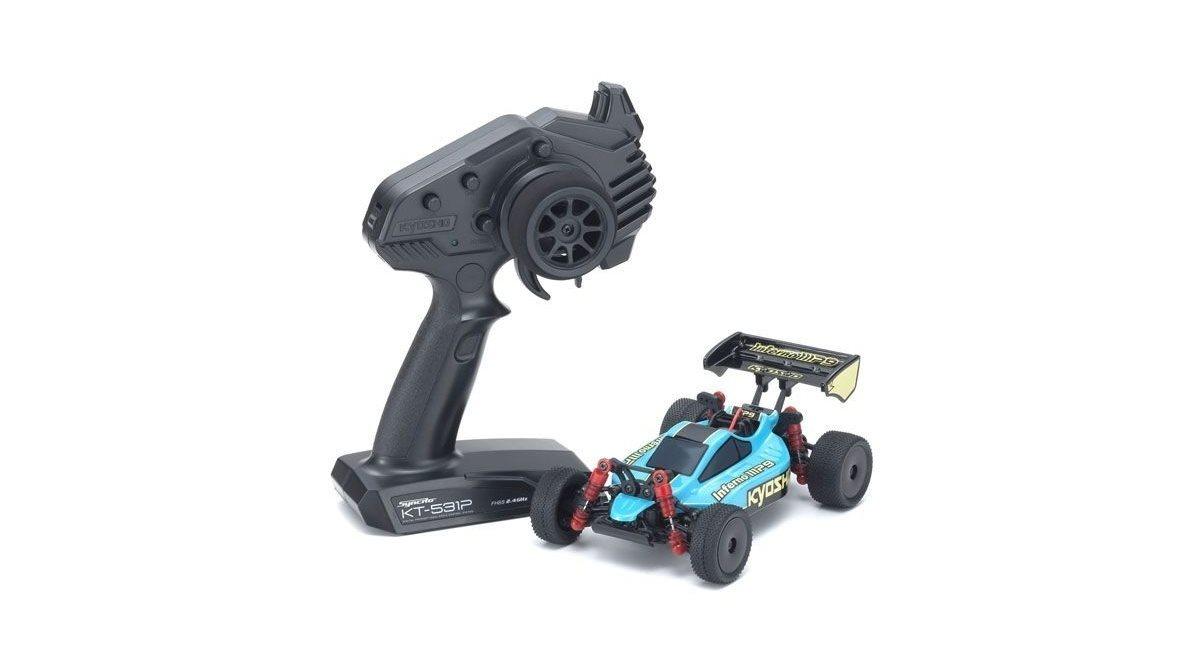 Mini-Z MB010 4WD 1/24 INFERNO MP9 TKI3 GREEN/BLACK - READYSET