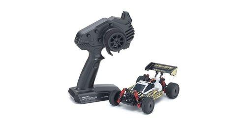 Mini-Z MB010 4WD 1/24 INFERNO MP9 TKI3 WHITE/BLACK - READYSET