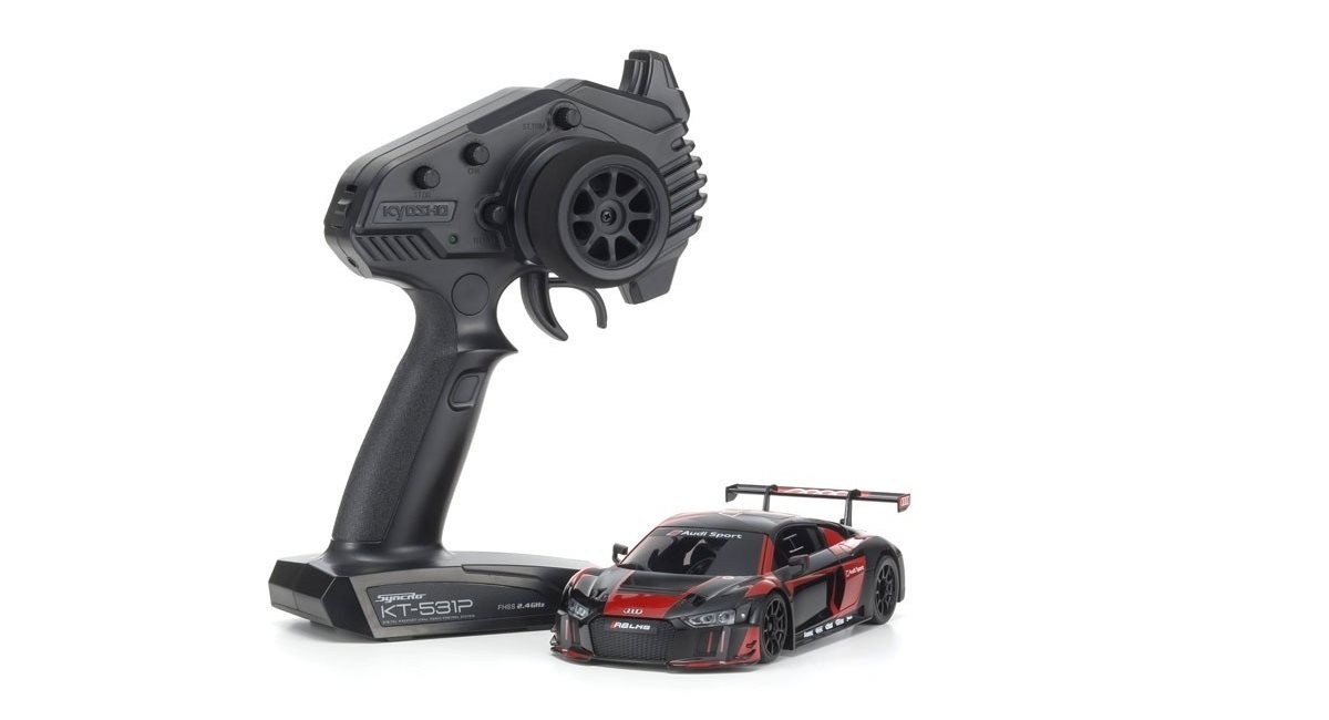 Mini-Z RWD AUDI R8 LMS 2015 BLACK-RED (W-MM/KT531P)