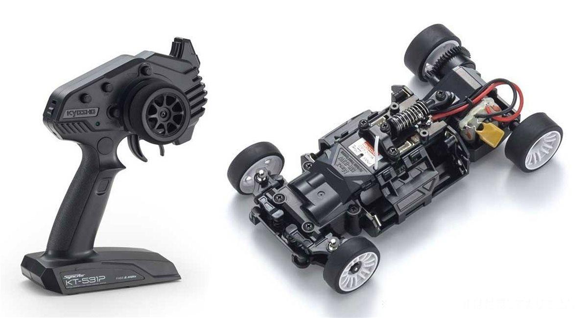 Mini-Z RWD Chassis & Tx Set (KT531P) W-MM