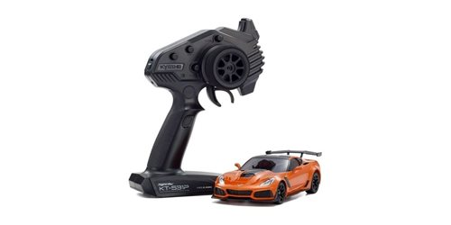 Mini-Z RWD Chevrolet Corvette ZR1 Sebring Orange (W-MM/KT531P) w/LED