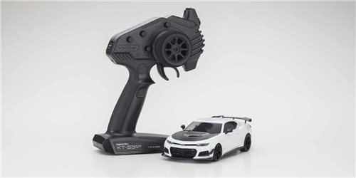 Mini-Z RWD Chevrolet Camaro ZL1 1LE Summit White (W-MM/KT531P) w/LED