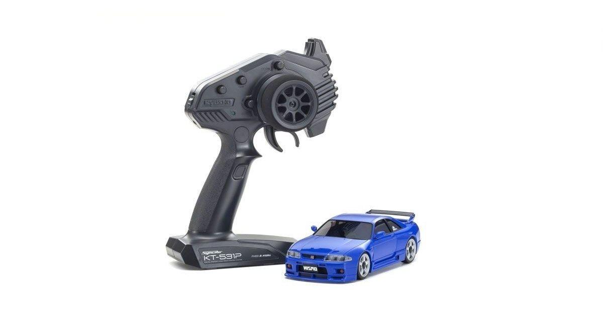 Mini-Z AWD Nissan Skyline GT-R Nismo (R33) Blue (MA-020/KT531P)
