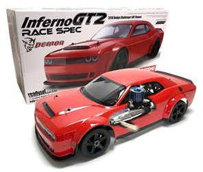 Kyosho Inferno GT2 1:8 RC Dodge Challenger Readyset w/Picco Rebel XL