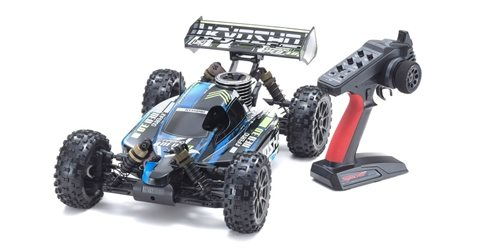 Kyosho Inferno Neo 3.0 1:8 RC Nitro Readyset w/KE21SP - T1 Blue