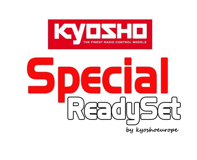 Kyosho Inferno MP9 TKI4 1:8 RC Nitro Readyset w/Picco Rebel XL Engine