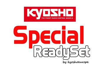 Kyosho Inferno MP9 TKI4 1:8 RC Nitro Readyset w/KE21SP and Sanwa MX6