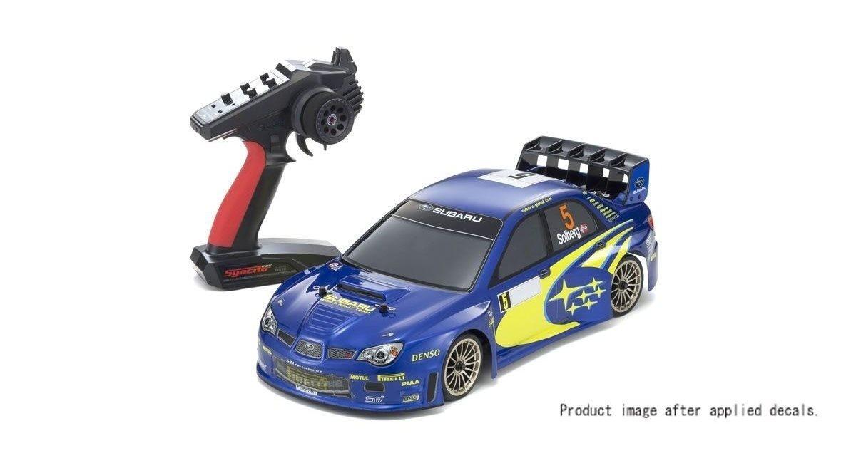Kyosho FW06 Subaru Impreza WRC 2006 1:10 RC Nitro Readyset w/KE15SP