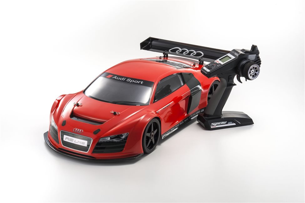 INFERNO GT2 VE RACE SPECS AUDI R8 LMS RED