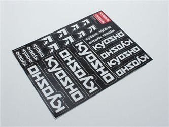 DECAL SHEET - KYOSHO TEAM DRIVER