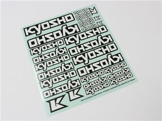 DECAL SHEET - KYOSHO LOGO (235x210mm)