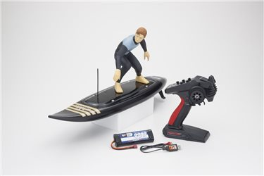 Kyosho RC Surfer 4 RC Electric Readyset (KT231P+) T2 Black