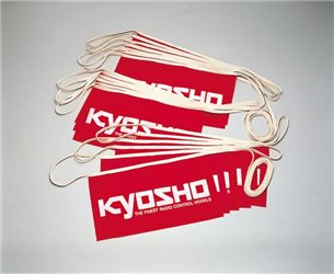 KYOSHO BANNERS ON ROPE