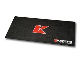 KYOSHO BIG K 2.0 PIT MAT - BLACK (61x122cm)