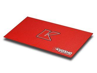 KYOSHO BIG K 2.0 PIT MAT - RED (61x122cm)
