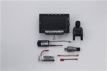 FPV ONBOARD MONITOR w/BATT-CHARG USB