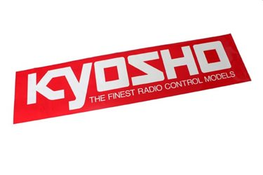 KYOSHO SQUARE LOGO STICKER (S) W106xH35