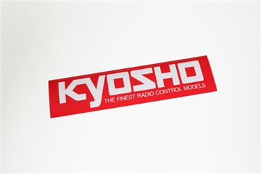 KYOSHO SQUARE LOGO STICKER (M) W290xH72