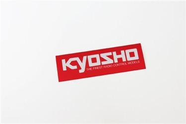 KYOSHO SQUARE LOGO STICKER (LL) W900xH200