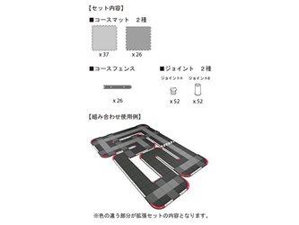 Kyosho Mini-Z Grand Prix Circuit 30 Expansion Set (60pcs)
