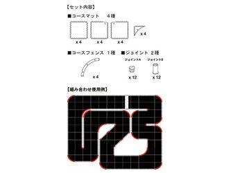 Kyosho Mini-Z Grand Prix Circuit 50 Large Corner Set (16pcs)