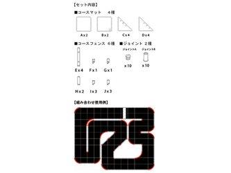 Kyosho Mini-Z Grand Prix Circuit 50 Corner Set 45 Degre (12pcs)
