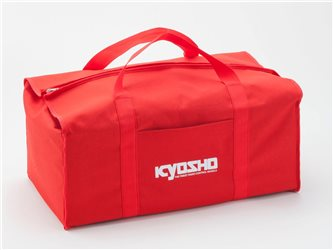 KYOSHO CARRYING BAG RED 320x560x220mm