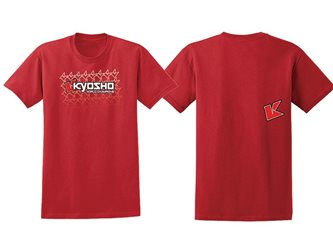 T-SHIRT K-FADE 2.0 RED KYOSHO - 12