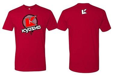 KYOSHO T-Shirt K-Circle Red - XXL