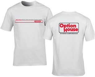 Kyosho OPTION HOUSE Limited T-Shirt  (L-size)