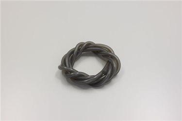 COLOR SILICONE TUBE (2.3 X 1000 / SMOKE GREY)