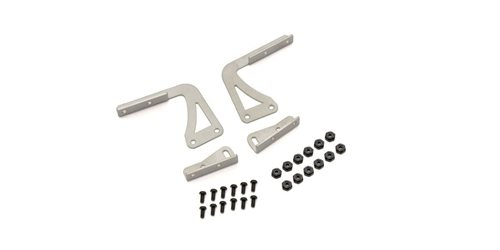 Wing Stay set 1:10 - Stainless Type-R