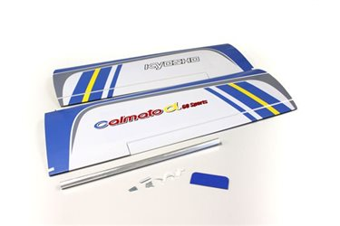 MAIN WING SET CALMATO ALPHA 60 SPORTS (BLUE)