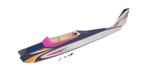 FUSELAGE CALMATO ALPHA 40 TRAINER (PURPLE)