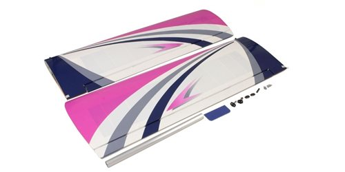 MAIN WING SET CALMATO ALPHA 40 SPORTS/TRAINER (PURPLE)