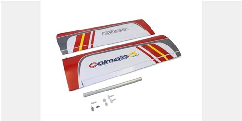 Main Wing Set Calmato Alpha 40 Trainer/Sports - Red