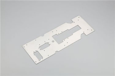 CENTER CHASSIS PLATE - EP BLIZZARD