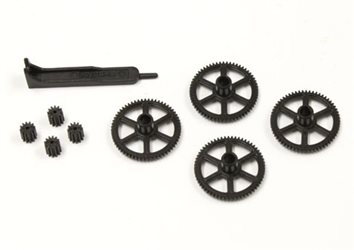 PINION AND SPUR GEAR SET DRONE RACER