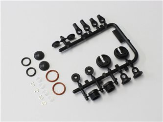 DAMPER PLASTIC PARTS / O-RING SET RAGE VE