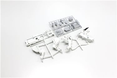 MAIN FRAME & GEARBOX SET HANGING-ON RACER