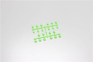 SUSPENSION BUSH SET - MP9 / FLUO GREEN