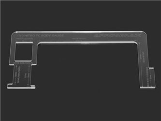 BODY GAUGE FOR 1:10 NITRO TOURING CARS