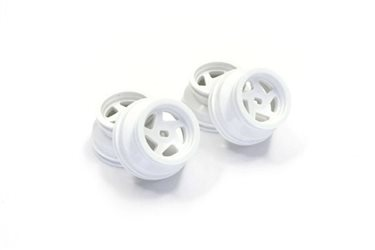 Mini-Z BUGGY WHEEL SET (OPTIMA) (4) - WHITE