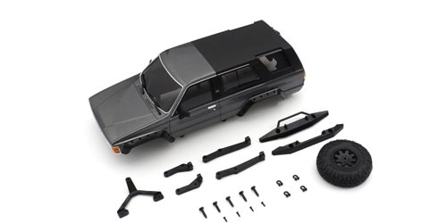 Bodyshell Toyota 4Runner Mini-Z 4X4 MX01 Grey Metallic