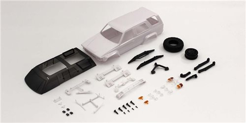 Bodyshell Toyota 4Runner Mini-Z 4X4 MX01 (White Body)