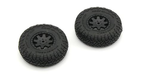 Pre-GluedTires (2) Toyota 4Runner Mini-Z 4X4 MX01