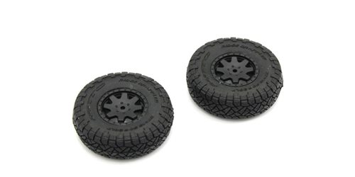 Pre-GluedTires (2) Toyota 4Runner Mini-Z 4X4 MX01 - Heavy Weight